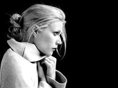 The very fabulous Gwyneth Paltrow and the power of black n' white photography.
