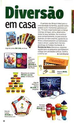 Um Dominó da Elo7 foi publicado na Revista Da Hora, em texto com dicas sobre como se divertir em casa.