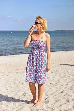 Tutorial Strandkleid - der Sommer kann kommen!