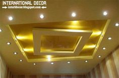 False ceiling design, Lights design, Color combination, Ceiling design, Swaras kitchen interior.