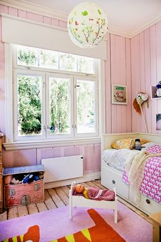 JUST perfect pink on the wall! <3