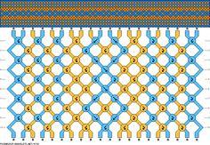 20 strings 10 rows 2 colors
