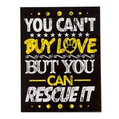 'Rescue Love' Sticker