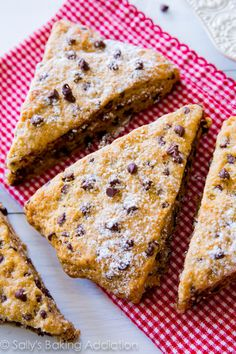 Chocolate Chip Scones.