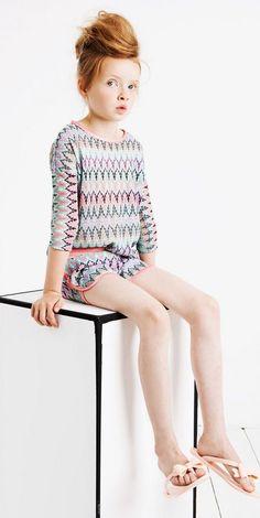 Nuevas colecciones de moda para niñas, Supertrash Girl SS 15 > Minimoda.es