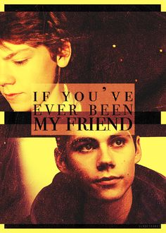 NO NO NO!!!!!!! I CAN'T DEAL WITH THIS!!! WHY COULDN'T THOMAS JUST TAKE HIM WITH THEM?????? NEWT?!