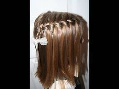 Waterfall Braid video tutorial