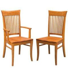 Side Chairs, Dining Chairs, Amish Furniture, Cambridge, Craftsman, Hardwood, Armchair, Studios, Cherry