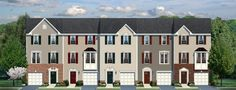 Artist renderings of a new townhouse community, Charlottesville VA. I'm very partial to townhomes - plenty of space, usually in a planned community with lots of amenities but no cumbersome yardwork involved. Now I'm just gonna have to learn to pipe down, so the cops don't show up every five seconds. LOOOOL.