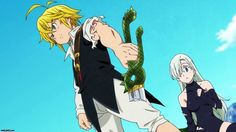 Seven Deadly Sins Nanatsu No Taizai Meliodas Broken Sword Elizabeth Anime Fall 2014 1920x1080