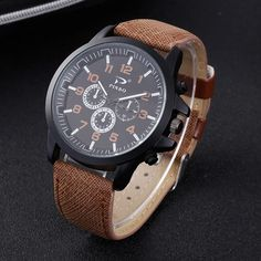 masculino on sale at reasonable prices, buy PINBO Casual Quartz watch men Women military Watches sport Wristwatch Leather Clock Fashion Quartz Wristwatch Relogio Masculino from mobile site on Aliexpress Now! Mens Watches Leather, Leather Men, Sport Watches, Watches For Men, Men's Watches, Quartz Watch, Mens Fashion, Luxury Fashion, Casual