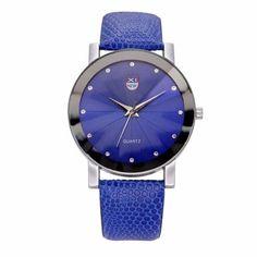 Splendid Diamond Dial Watches Mens,Luxury Design Stainless Steel Quartz Wrist Watch Men Sports Leather Military Watch Women