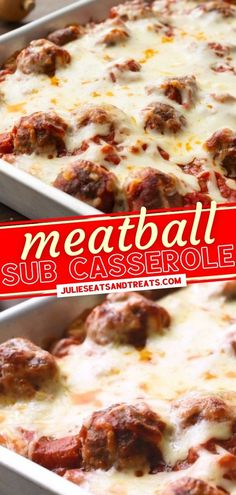 This hearty casserole is one of the best you will ever try! It is so easy to make this recipe that also freezes great. With all the flavors from the classic meatball sub, it is the perfect comfort food for dinner. Everyone will be coming back for seconds of this meal! Easy Holiday Recipes, Fall Recipes, Yummy Recipes, Great Recipes, Yummy Food, Favorite Recipes, Meatball Sub Casserole, Meatball Subs, Thanksgiving Main Dishes