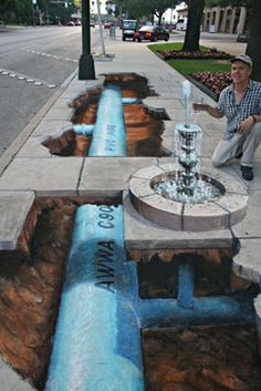 Stunning 3D Illusions Street Art