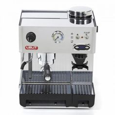 Lelit espresso - 50s line - Anita PL042TEMD The machine with the built-in grinder. Because fresh ground coffee makes the difference.