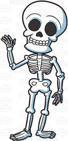 A Friendly Skeleton Skeleton Puppet, Skeleton Drawings, Cartoon Tattoos, Cartoon Drawings, Window Mural, Skull Illustration, Halloween Cartoons, Classic Tattoo, Stock Art