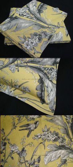 2 TWO STANDARD PILLOW COVER SHAM w NEW RALPH LAUREN GRAND ISLE FLORAL FABRIC #Handmade #CUSTOMMADE