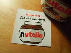 nutella love