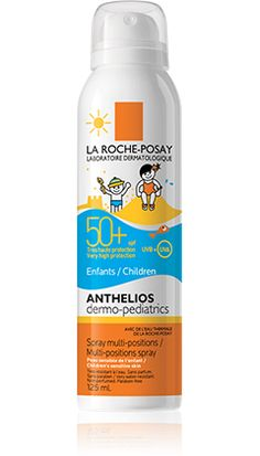Anthelios Dermo-Pediatrics SPF 50+ Multi-position Spray packshot from Anthelios, by La Roche-Posay