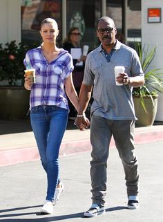 Paige Butcher and Eddie Murphy..
