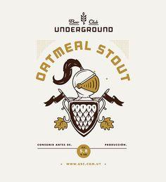 Underground Beer Club Label