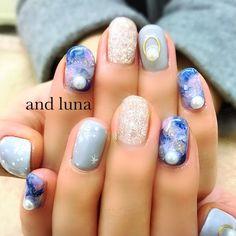 サンプルデザインをもとに♡ #さとうえみ♡andluna #ネイルブック
