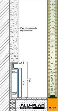 www alu plan de Section Drawing Architecture, Architecture Building Design, Concrete Architecture, Facade Design, Wall Design, Interior Architecture, Construction Drawings, Construction Design, Joinery Details
