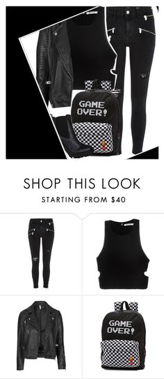 """""""Read the description if you honestly care."""" by luluzilla676 ❤ liked on Polyvore featuring River Island, T By Alexander Wang, Topshop and Vans"""