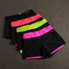 Mulher roupas de Fitness de secagem rápida ao ar livre jogging ginásio calções de corrida reflexivo sexy - Pandora Fashion