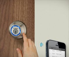 Lock opens by smart phone remotely!
