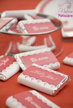 Lata con chocolatines personalizados