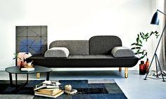 Form and function: the Toward sofa by Anne Boysen,  from Erik Jørgensen. Photograph: Kirstine Mengel