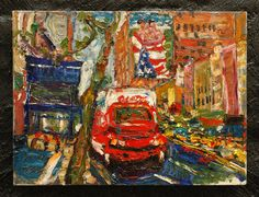 "PHILIP LAWRENCE SHERROD NA/- (STREET*PAINTER)-*PAINTING*-..(*NYC*/-..*PLEIN*AIR*!)?(*FOUNDER*/-..-*STREET*PAINTERS*NYC)!?  TITLE: -""23rdST./-LATE*MORNING/-*SCAF*FOLD*ING!/-..*TWO*BOYS*/-&*AMERICAN*FLAG!(?)""  MED:O/C   SIZE:18"" X 24""   DATE:2005-(C)"