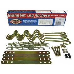 #3: Flexible Flyer Ground Anchor Kit for Metal Frame Swing Sets