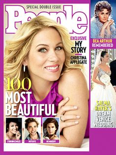 People's Annual 'Most Beautiful' Issue - 2009: Christina Applegate