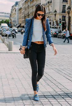 Inspiración para hacer maleta: Street Style por Tommy Ton