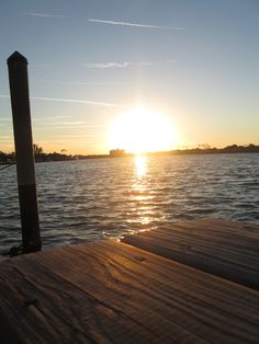 New Smyrna Beach Florida <3  Sitting on the dock, wasting time.