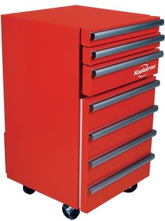 Chest Fridge Tool Red Creative Adjustable Sliding Drawers Compact Refrigerator #Koolatron #Chest #Tool #Red #Refrigerator