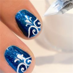 A Calligrapher's Touch: How to Use the Be Creative Nail Art Pen - Style - NAILS Magazine