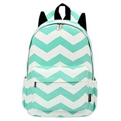 West Beauty Causal Lightweight Canvas Cute Backpacks Notebook Computer 15 Laptop School Rucksack Daypack Backpack Green * Check this awesome product by going to the link at the image.
