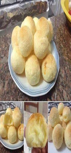 Pão de Queijo de Liquidificador Delicioso!  #pão #pãodequeijo#comida #culinaria #gastromina #receita #receitas #receitafacil #chef #receitasfaceis #receitasrapidas