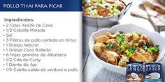"""Griego de Danone on Twitter: """"jajaja tranqui @isaramos, entendimos igual. 😉 Acá te dejamos nuevamente la receta de Pollo Thai con Griego de Coco. https://t.co/63GjhNZ6IJ"""""""