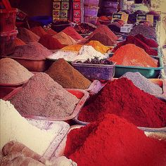 Spice Market in Algeria