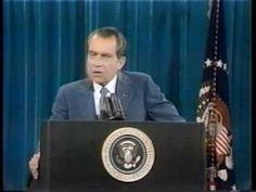 "Richard Nixon - ""I'm not a crook"" speech"