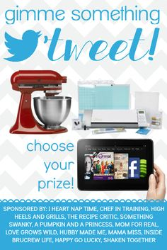 Gimme Something Tweet Giveaway: Choose Your Prize Edition - Something Swanky
