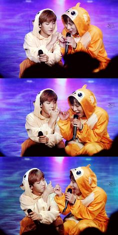 Seo MONKEY EunKwang & Lee SQUIRREL MinHyuk