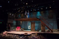 Dance of the Holy Ghosts. CenterStage. Scenic design by Neil Patel. 2013