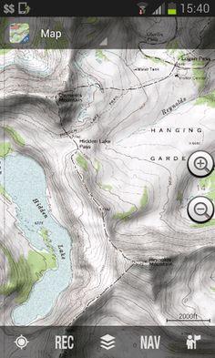 Mt Saint Helen Contour Map Httpvolcanooregonstateeduoldroot - Free topo map app
