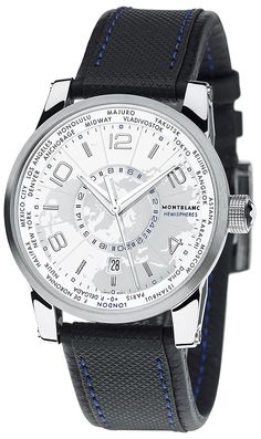 Montblanc TimeWalker World Time Hemispheres 42mm 108955