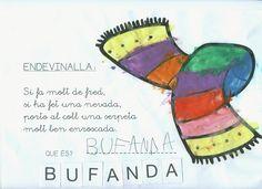 endevinalles - Cerca amb Google Valencia, Advent, School, Google, Initials, Index Cards, Board, Winter, Schools